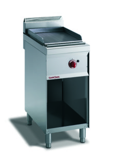 Fry top a Gas Rigato 4,5 Kw serie 70 6