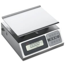 Bilancia portatile digitale acciaio inox 10 Kg Sirman Minneapolis 10/2 4